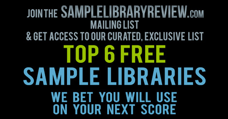Top 6 FREE Sample Libraries