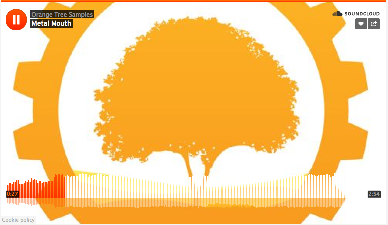 orange tree samples discount