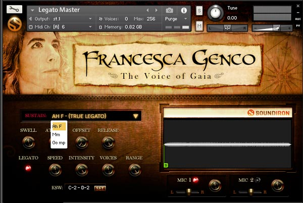 Review The Voice of Gaia: Francesca from Soundiron - Sample Library
