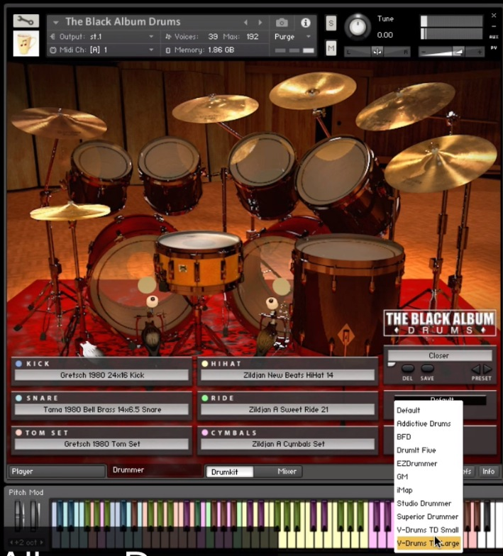 Review The Black Album Drums from Chocolate Audio - Sample