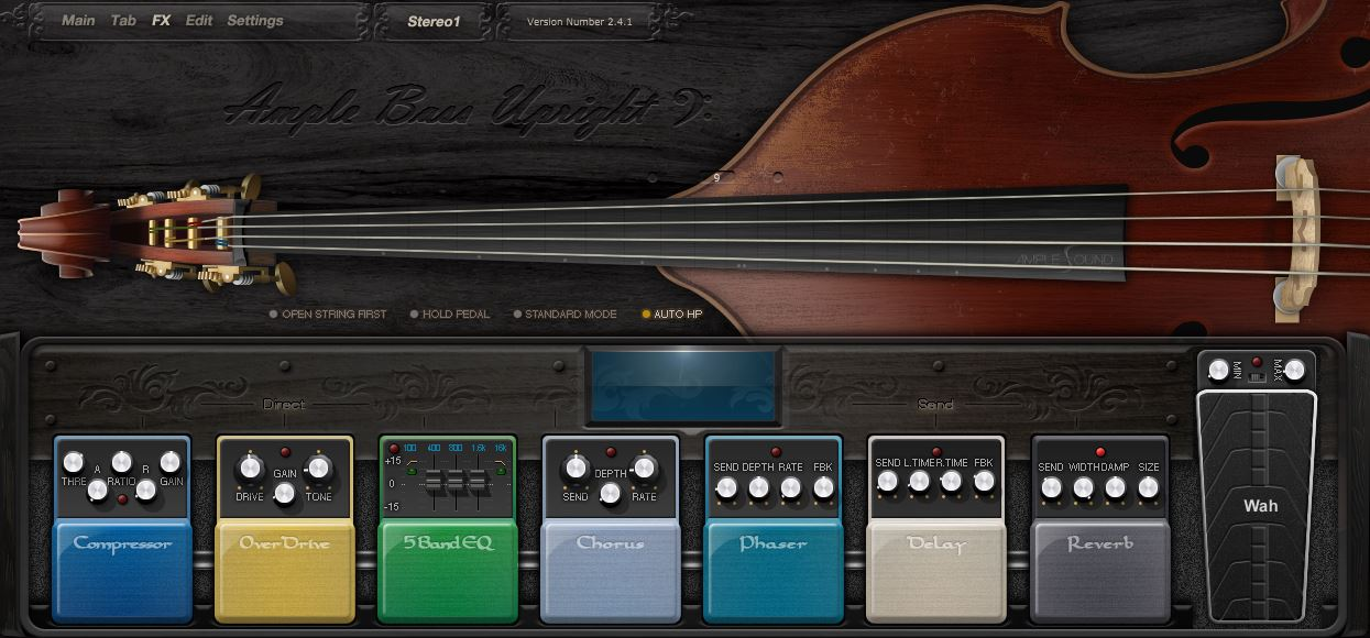 Review: Ample Bass Upright II from Amplesound - Sample Library Review