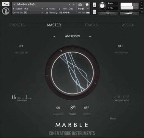 Marble Interface Front