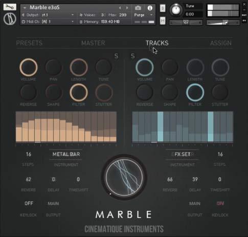 Marble Tracks