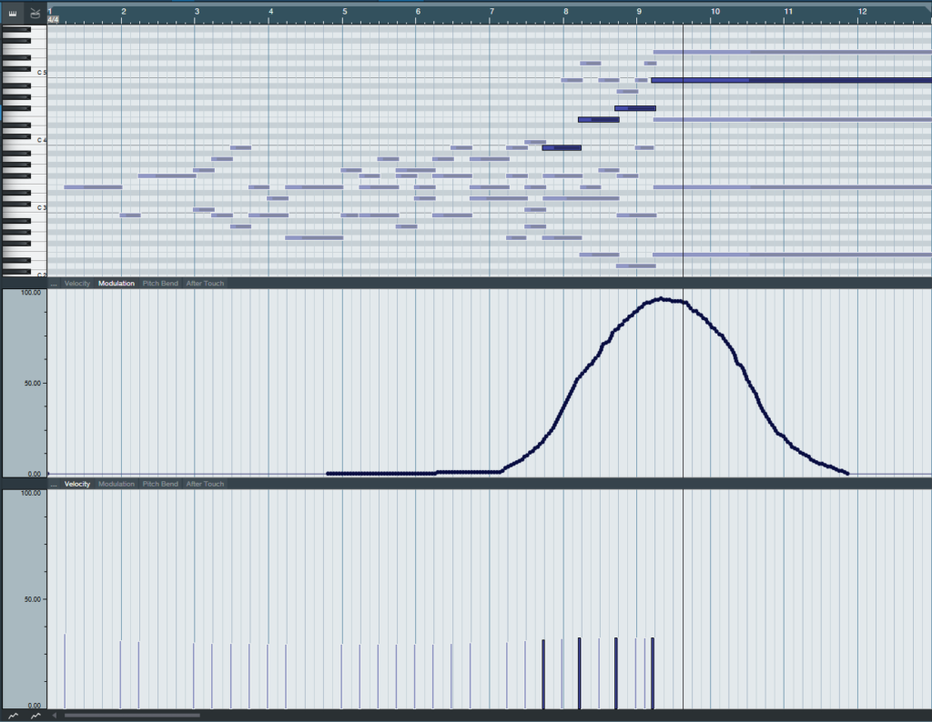 MIDI file of the String Parts
