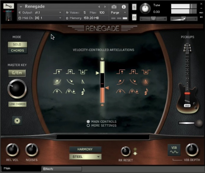 Review Renegade Electric Guitar From Indiginus Sample Library Review