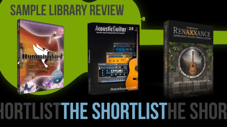 Sample Library Reviews' Acoustic Guitars: The Short List - Sample ...