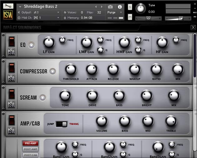 Review Shreddage Bass 2 by Impact Soundworks - Sample