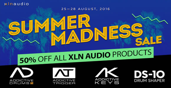SALE: XLN Audio Summer Sale 2 Days Only save 50% OFF