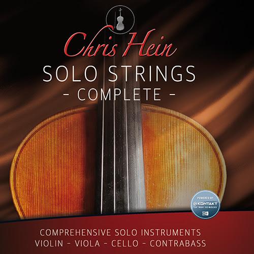 Press Release: Chris Hein Solo Strings Complete, Solo Viola