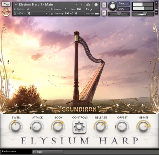 Review: Elysium Harp by Soundiron - Sample Library Review