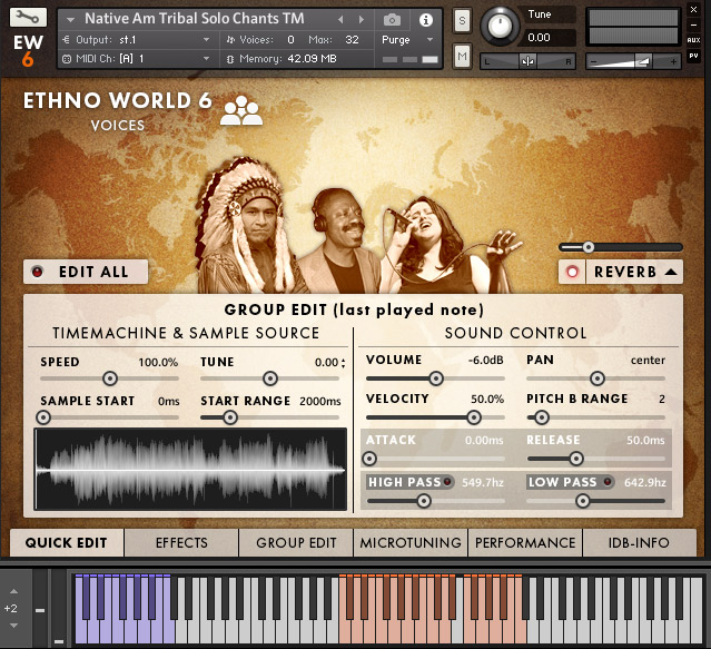 Review: Ethno World 6 Voices by Marcel Barsotti from Best Service