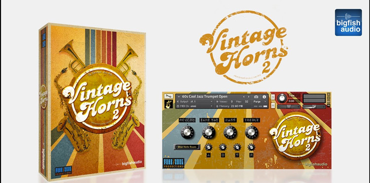 Review: Vintage Horns 2 from Big Fish Audio - Sample Library