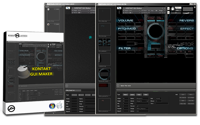 Flash Sale on Kontakt GUI Maker by Rigid Audio - Sample Library Review