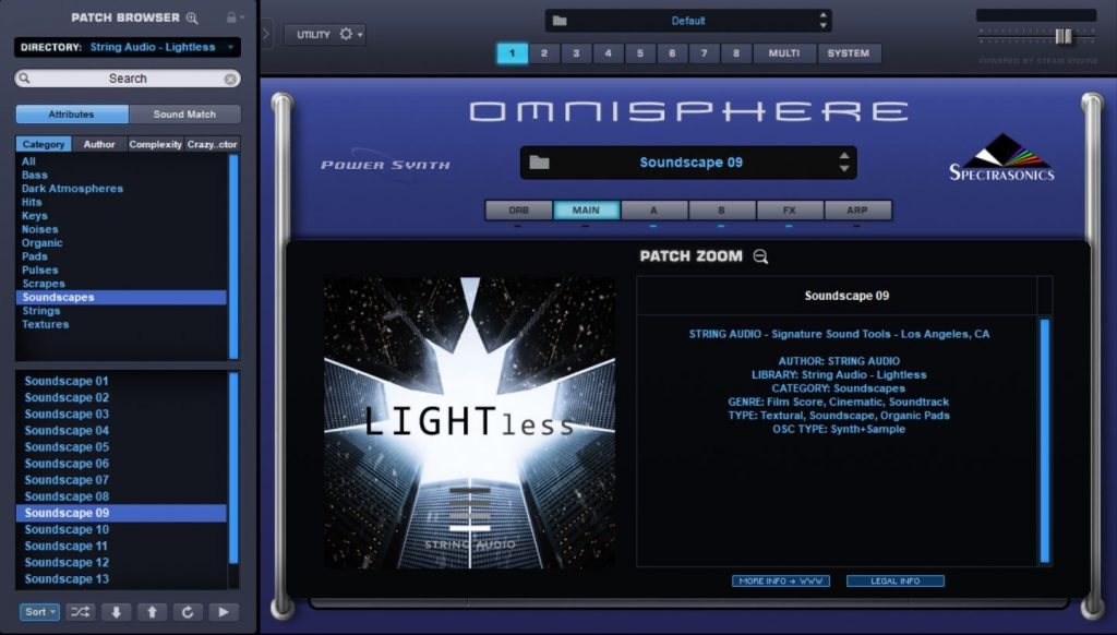 Review: LIGHTless for Omnisphere 2 from String Audio - Sample