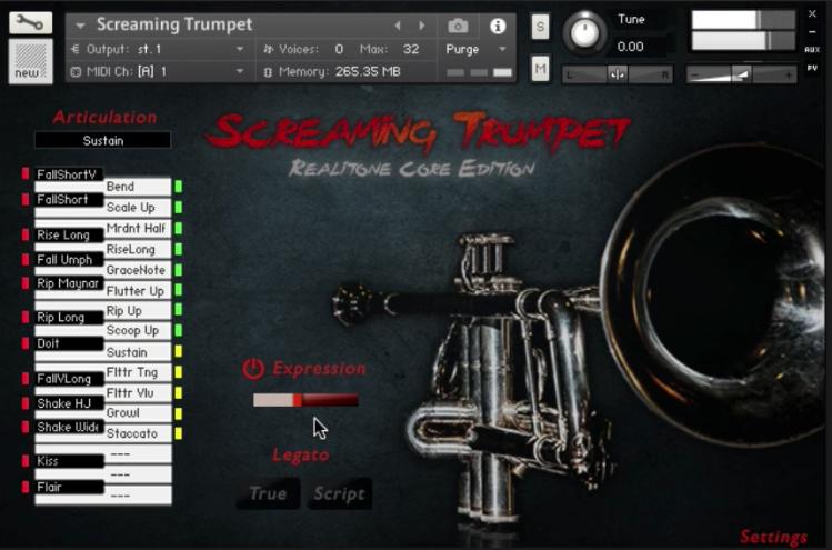 muted trumpet kontakt