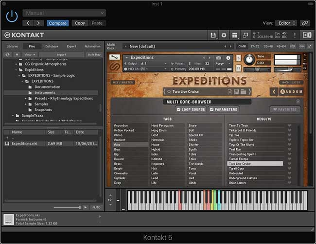 Review: Expeditions Cinematic & World Rhythms by Sample
