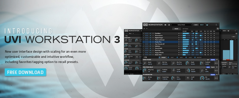 FREE UVI Workstation 3 0 Update - Sample Library Review