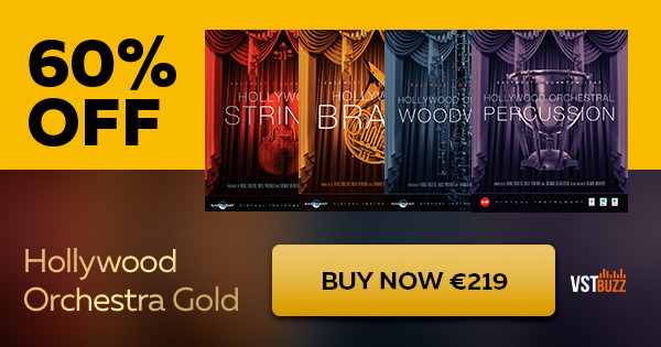 """60% off """"Hollywood Orchestra Gold"""" by EastWest Sounds"""