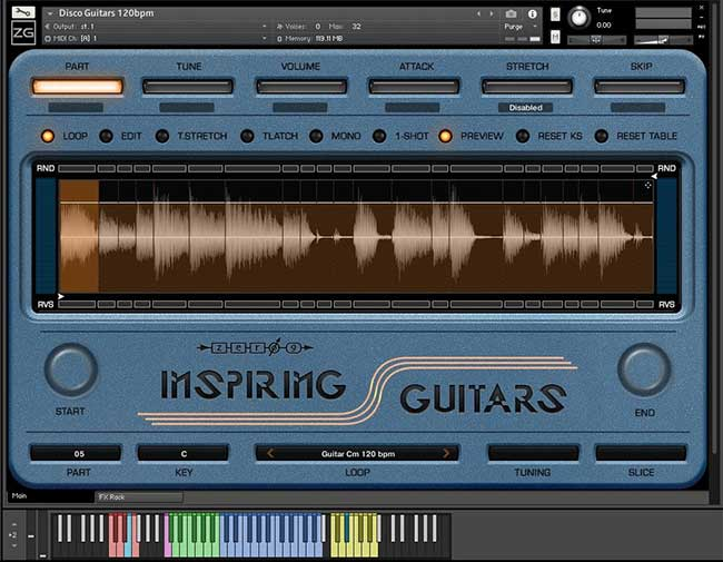 kontakt guitar library rutracker