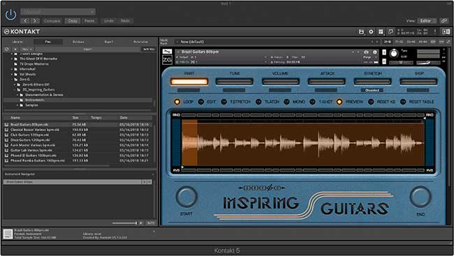 Review: Inspiring Guitars by Zero-G - Sample Library Review