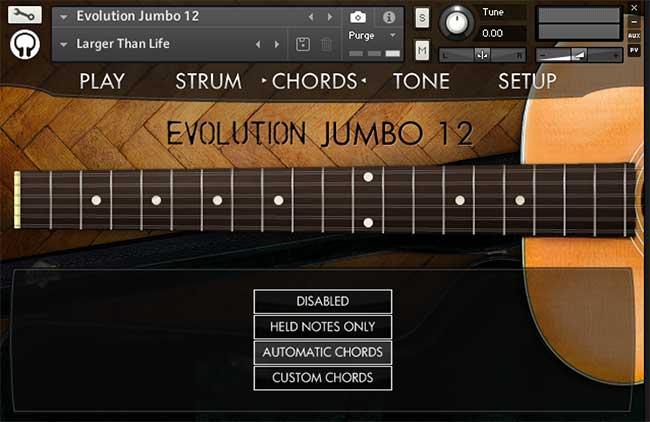 Review: Evolution Jumbo 12 by Orange Tree Samples - Sample