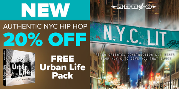Zero-G release NYC LIT - Hip Hop sample collection from producer