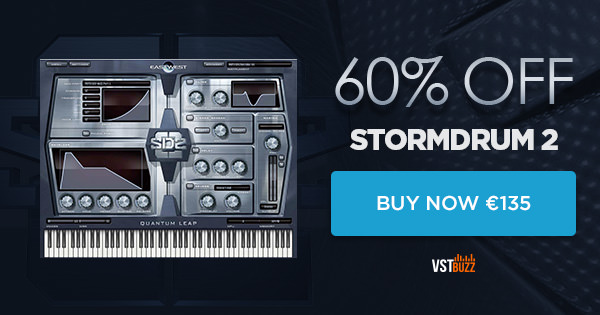 60% off Stormdrum 2 by EastWest Sounds - Sample Library Review