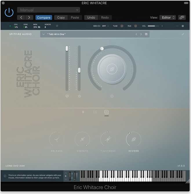 Spitfire Audio release Eric Whitacre Choir - Sample Library Review