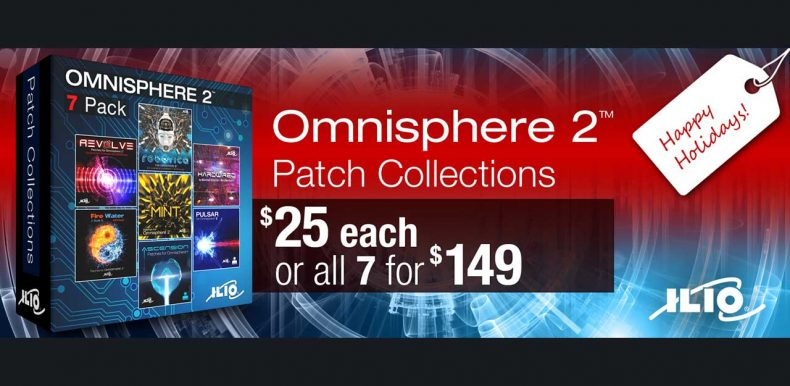 ILIO announce Special Holiday Pricing on Omnisphere 2 Patch