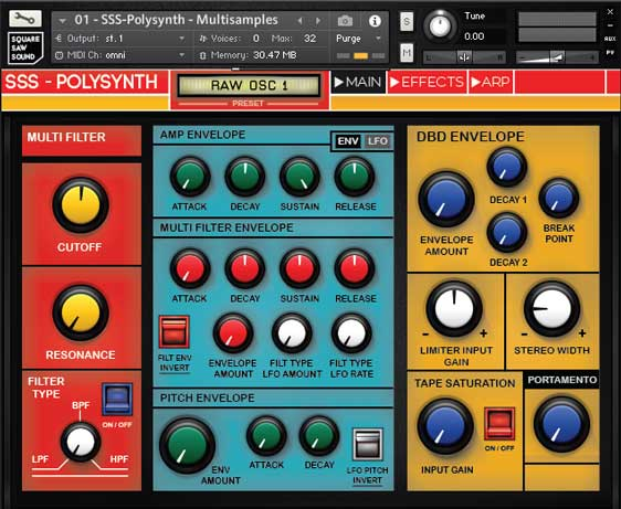 Review: VC-SSS-3 & SSS-Polysynth by Square Saw Sound - Sample