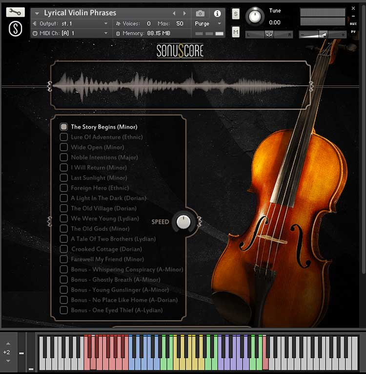 Review: Lyrical Violin Phrases by Sonuscore - Sample Library Review