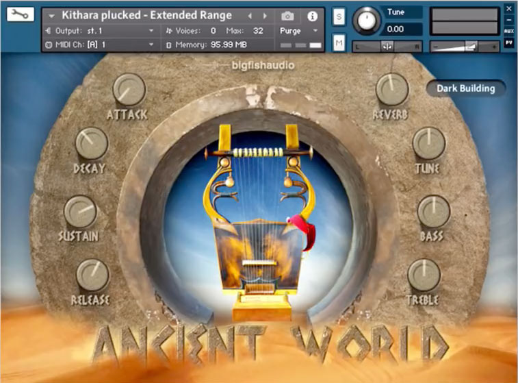 First Look: Ancient World Instruments of Antiquity by Big