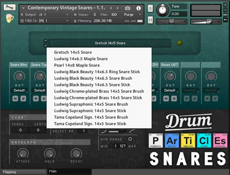 Review: Drum Particles Collection for Kontakt by Chocolate