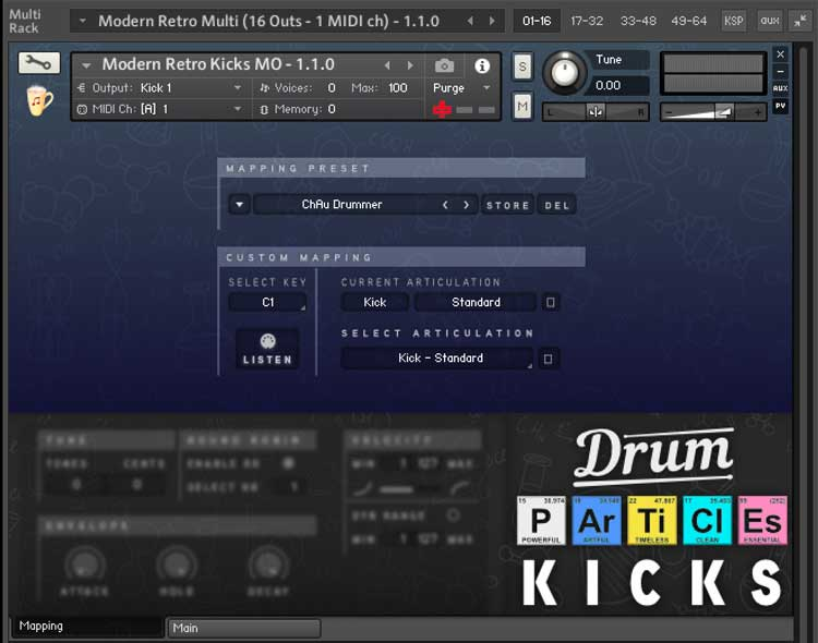CA-Drum-Particles-Mapping-Screen - Sample Library Review