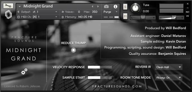 Review: Midnight Grand by Fracture Sounds - Sample Library Review