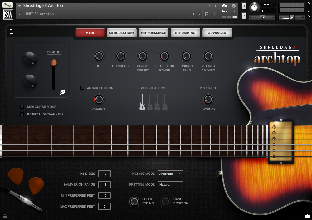 Review: Shreddage 3 Virtual Guitar Instruments Line by Impact ...