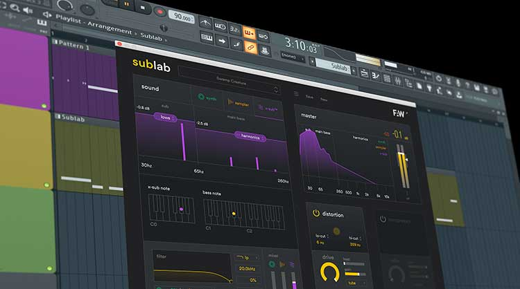 Future Audio Workshop release Sublab - 808 style sub-bass