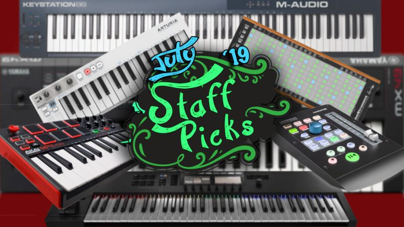 SLR Staff Picks for July 2019 - Midi Controllers - Sample