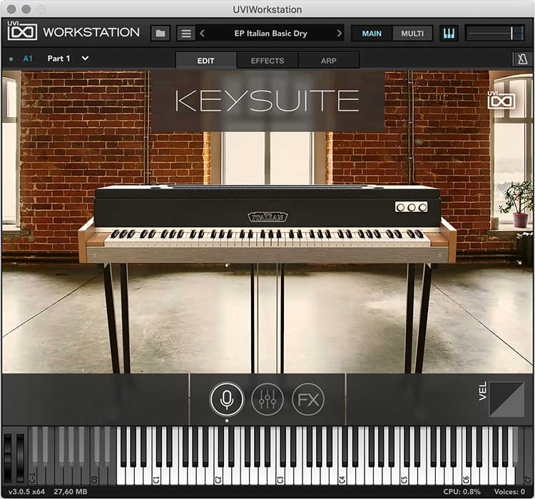 Review: Key Suite Electric by UVI - Sample Library Review