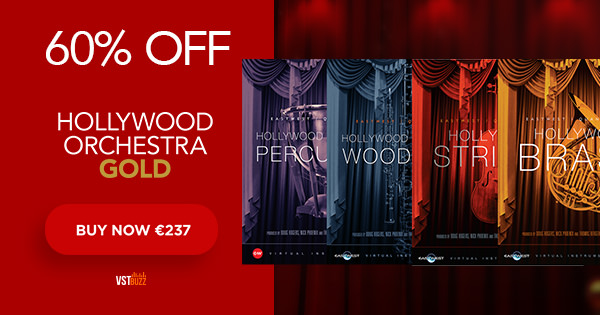 VstBuzz announce 60% OFF Hollywood Orchestra Gold